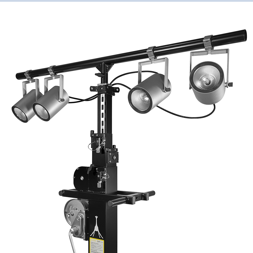 Mobiltechlifts' T-Bar sets your lighting free!