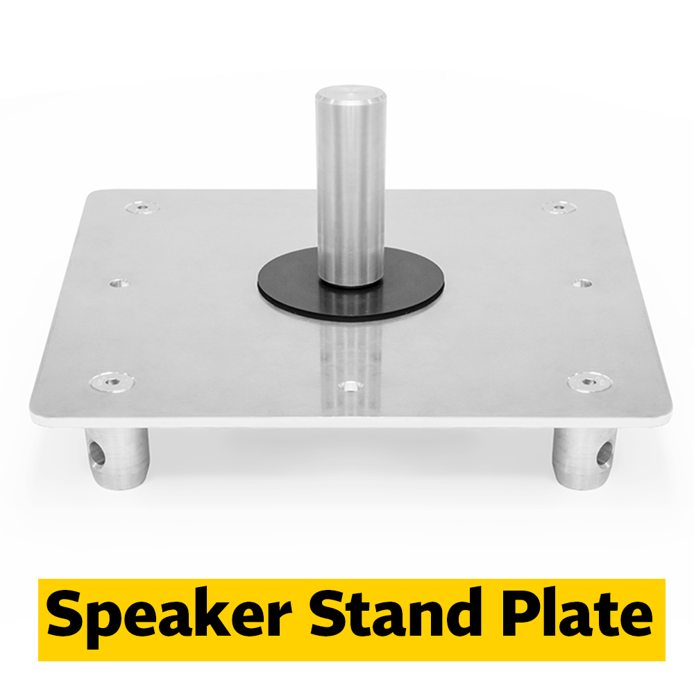 Speaker Stand Plate