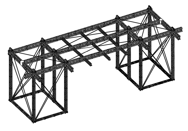 EXTREME Support with MILOS Ultra High-Strength Steel Truss