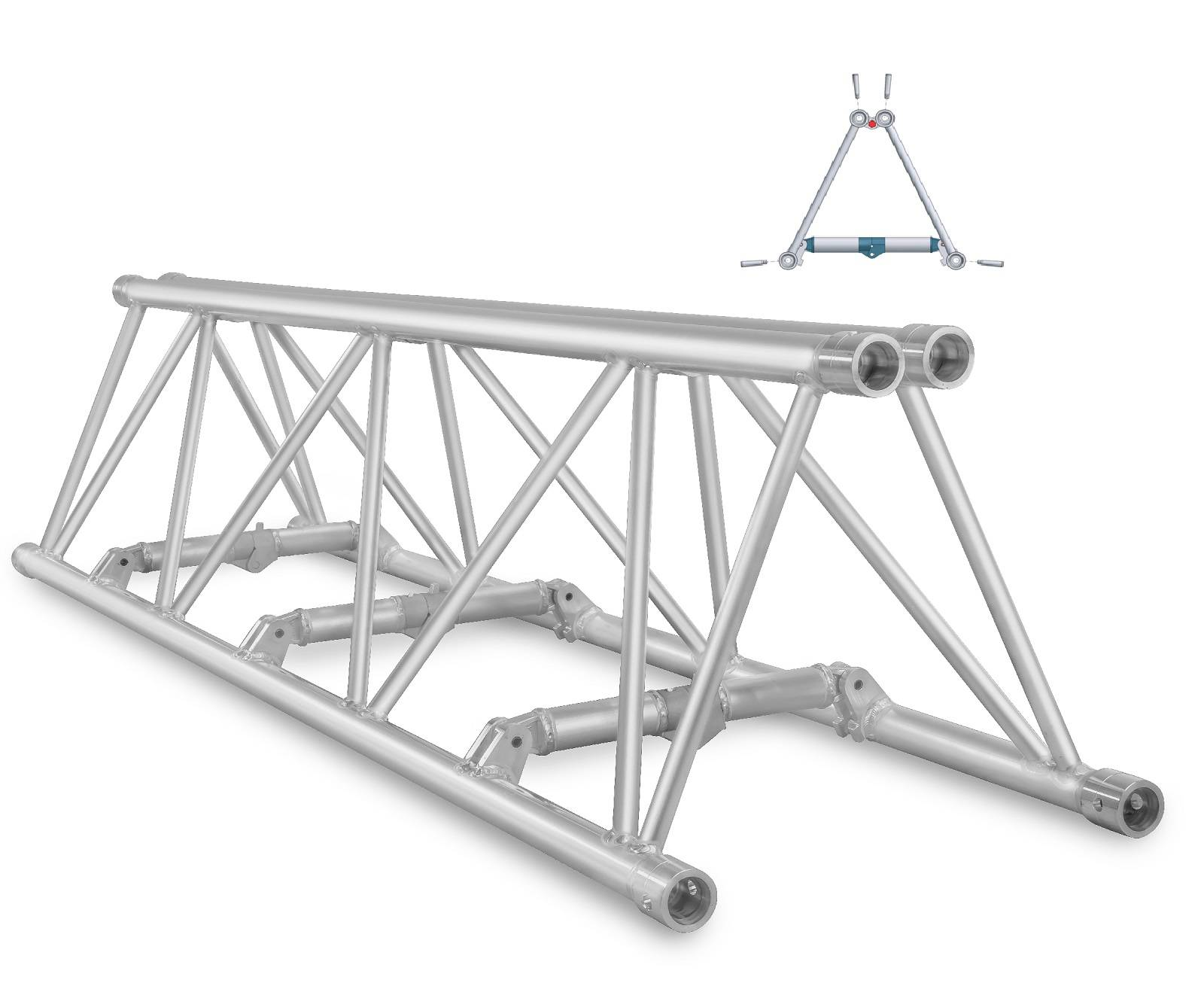 M520 - High Capacity truss range including compact folding option