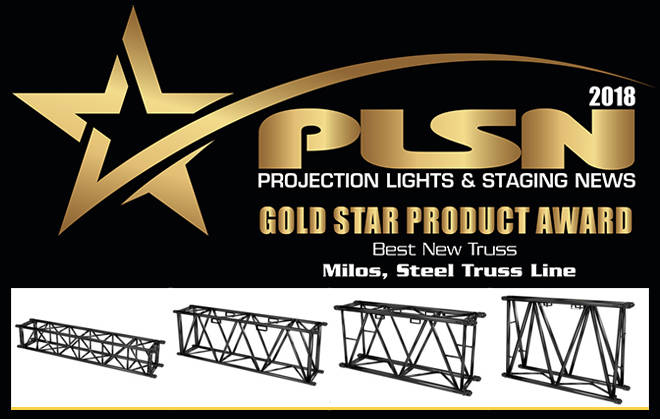 MILOS Steel Truss wins Gold Star Product Award