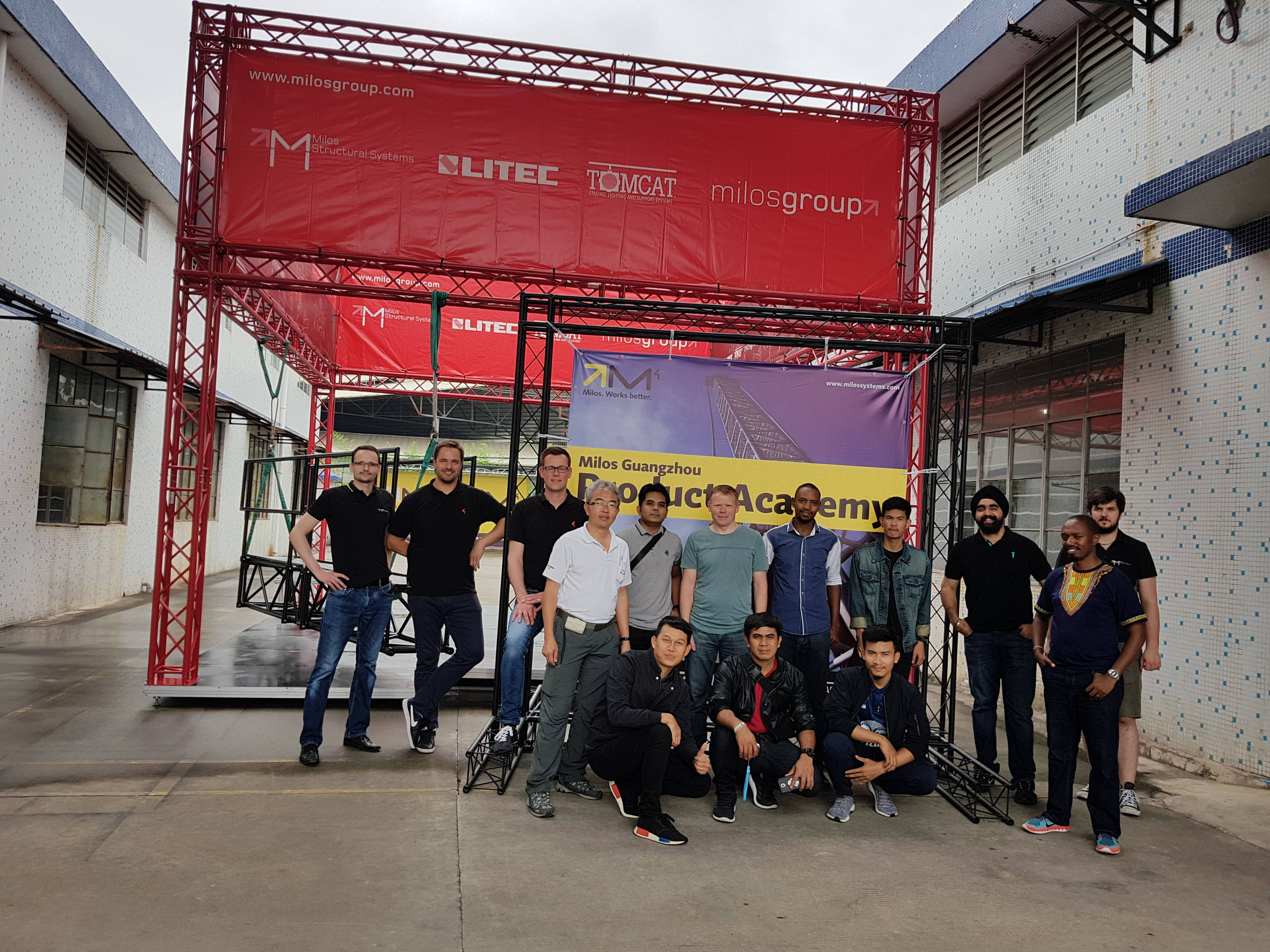 MILOS Product Academy in China