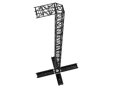 S-MT-PA-20m Steel PA Tower