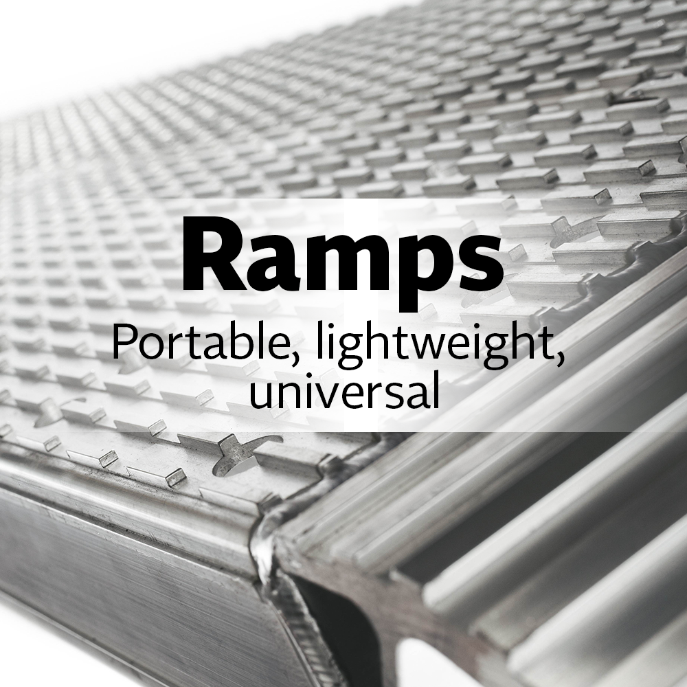 Ramps. The Perfect Solution for both Light- And Heavy-Weight Usage