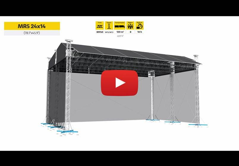 New video release on ROOFS for Big Events