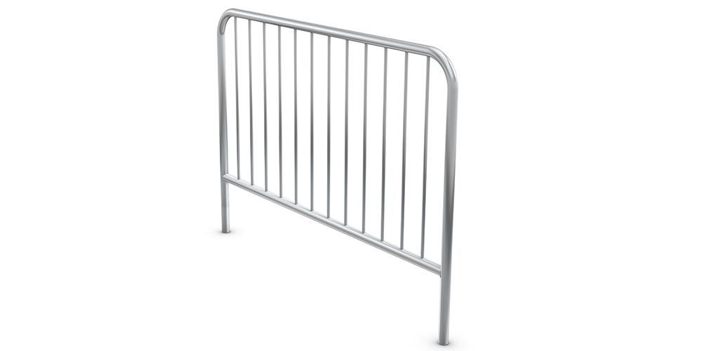 Xstage Guard Rails ensure stage edge safety