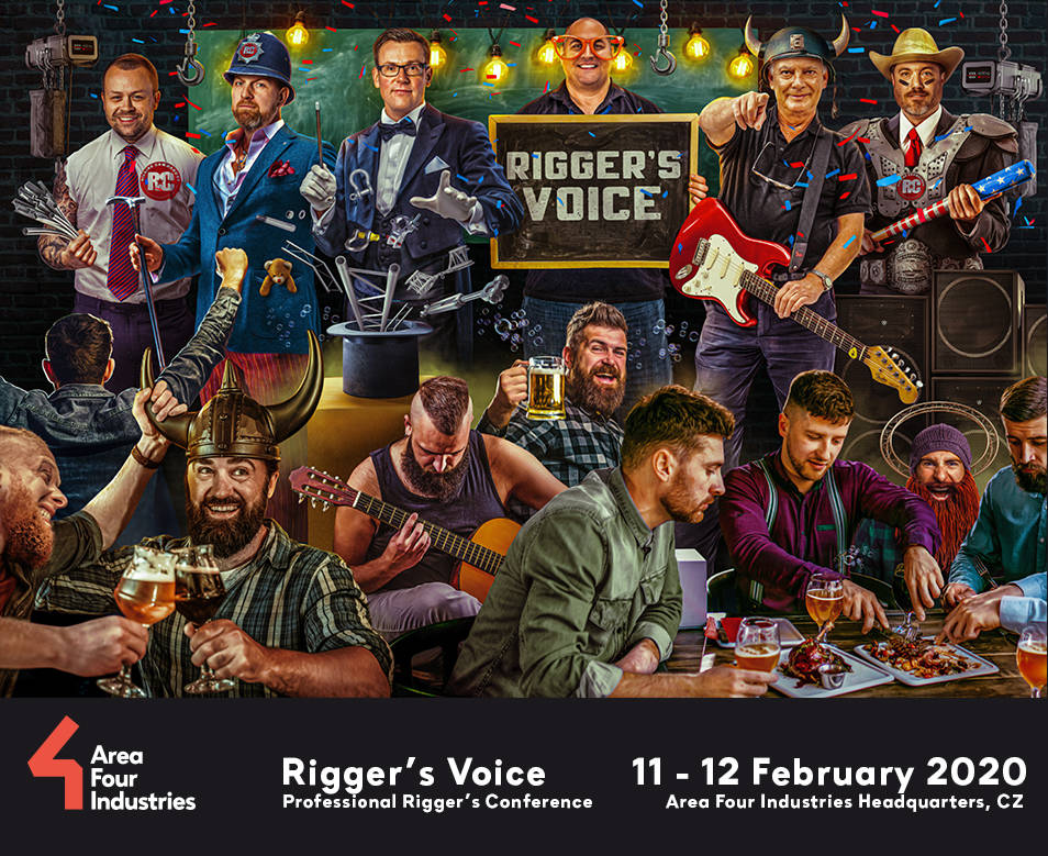 2020 Rigger's Voice Conference at full capacity